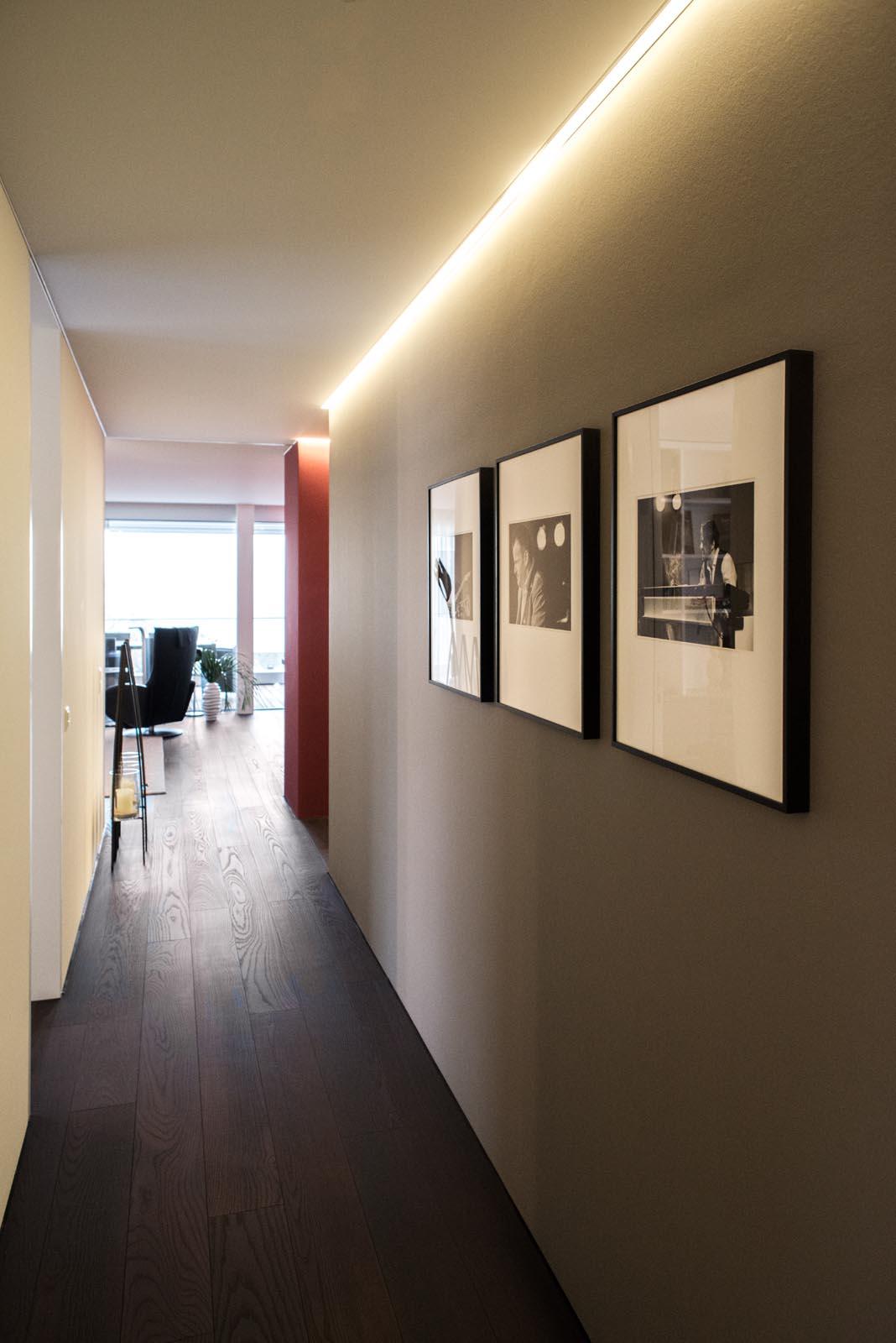 Urbanes Design mit moderner Innenarchitektur in Zug   Regula Hotz ...