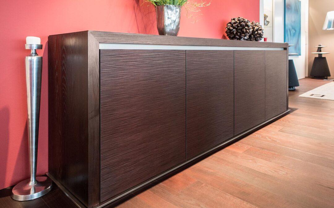 Ein Möbelsystem im Einklang mit der Innenarchitektur – Wohnen mit Stil