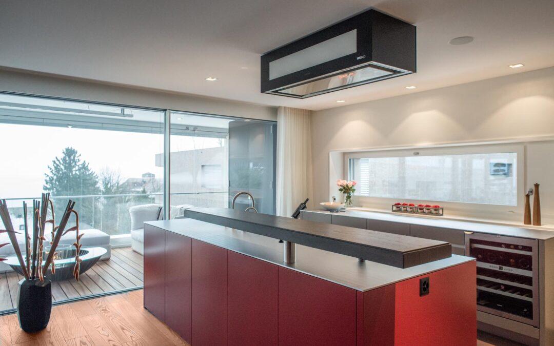 Die Koch-Bar: Modernes Design und Funktionalität vereint
